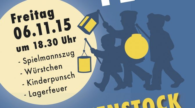 Laternenfest  am 06.11.2015